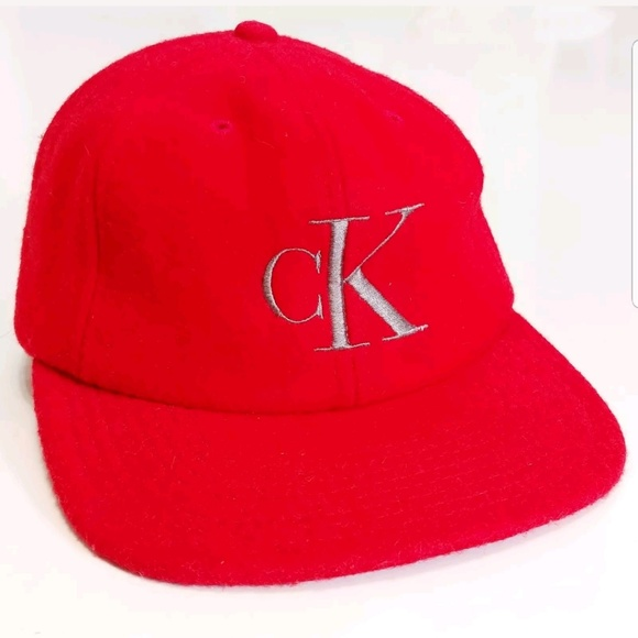 fd49b8cd11d Calvin Klein Other - 90s Vintage Calvin Klein Wool Snap Back Hat